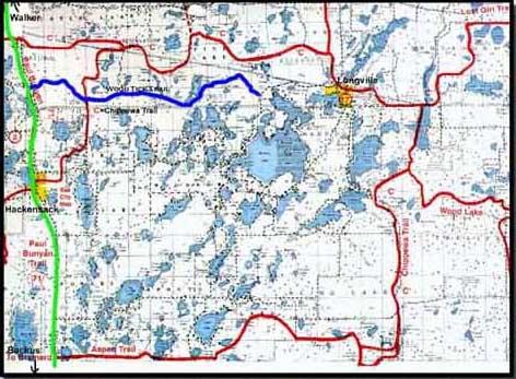 Chippewa Trail / Woodtick MN