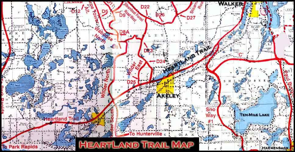 Heartland Trail   Pine River MN