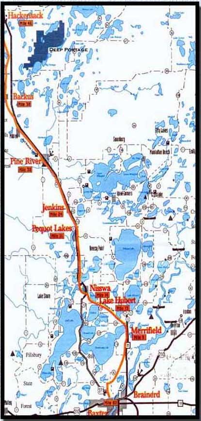 Paul Bunyan Trail   Pine River MN