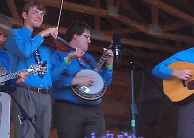 The Blue Grass Festival in Pine River Minnesota